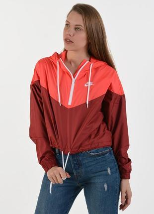 Куртка ветровка анарок nike heritage jacket (xs-s-m-l) оригинал!! -13%