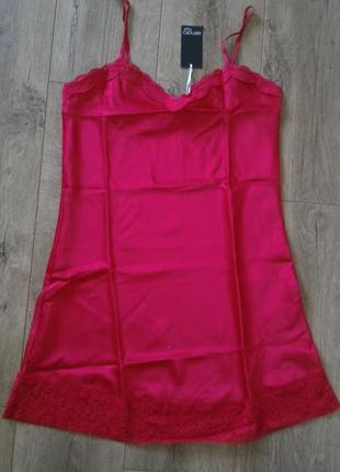 Сатиновая секси сорочка.esmara lingerie/германия.евро 38 наш 44.