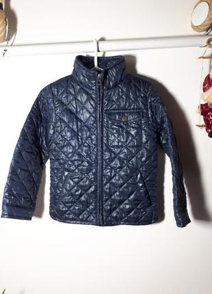 Стеганая весенняя куртка для мальчика 2-3 лет geox
