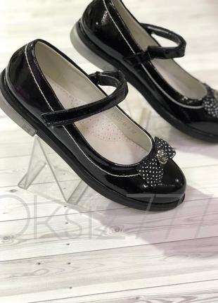 Шикарные туфли для девочки tom.m