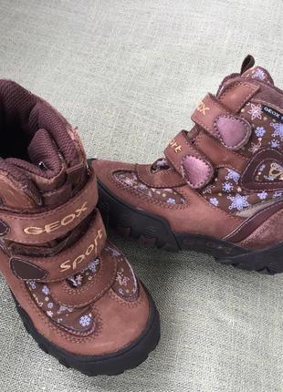 Сапоги ботинки geox оригинал р.26
