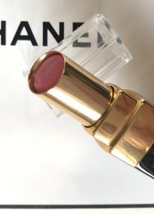 Chanel rouge coco shine 87 увлажняющая губная помада с блеском