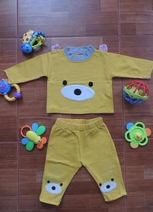 Жёлтый костюмчик
