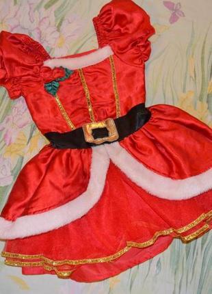 88ef10f988f Новогоднее платье помощницы санты