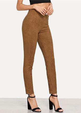 Замшевые брюки, лосины, леггинсы сalzedonia, италия