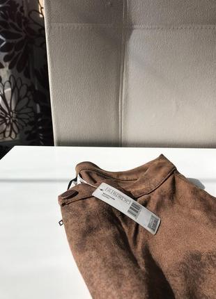 Новые замшевые брюки, лосины, леггинсы сalzedonia, италия4 фото
