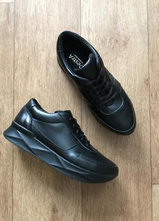 Крутые городские кожаные кроссовки, кеды
