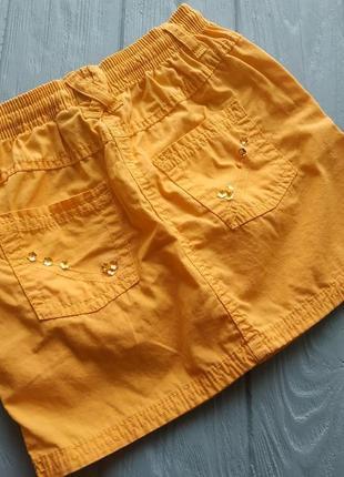 Коттоновая юбка на девочку 98-104 см германия