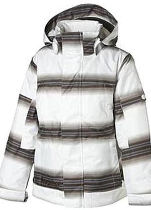 Крутая демисезонная куртка burton на 9-12 лет. рост 136-146 см
