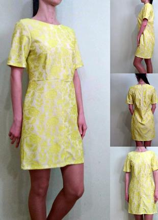Красивейшее платье с кружевным эффектом