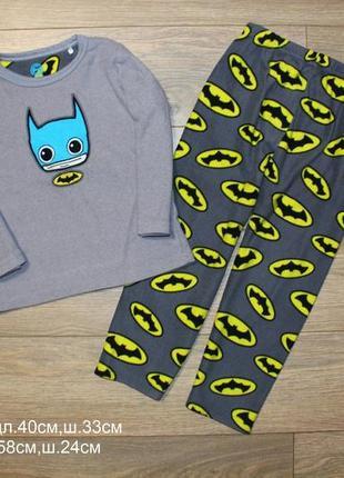 Пижама флис 4-5лет