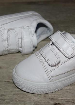 Стильные белые кроссовки кеды некст next