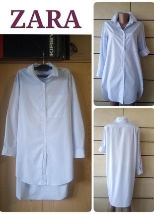 Шикарная рубашка - платье zara.