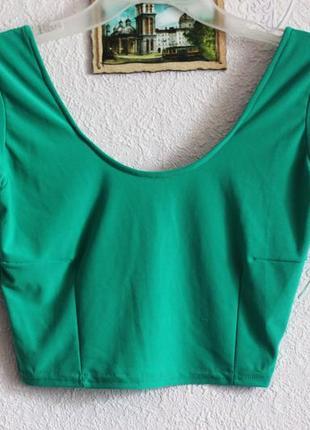 Кроп топ, футболка укороченная секонд