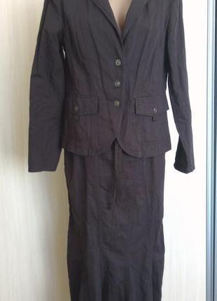 Супер модный костюм р 48/50 ks selection на высокую девушку