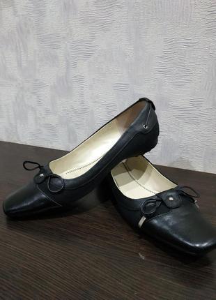 Удобные женские туфли балетки braska