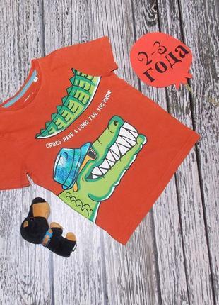 Фирменная футболка palomino для мальчика 2-3 года. 92-98 см