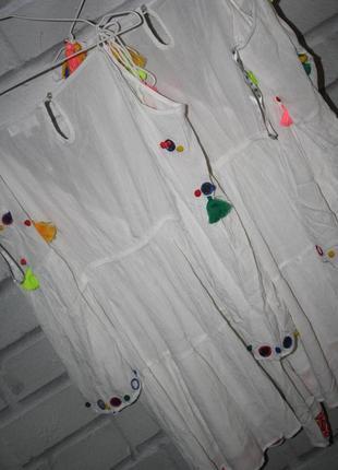 Крутое летнее платье3 фото