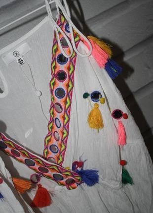 Крутое летнее платье4 фото