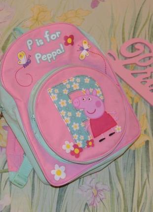 Рюкзачок со свинкой пеппой
