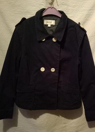 Жакет  курточка пиджак женский укороченный двубортный
