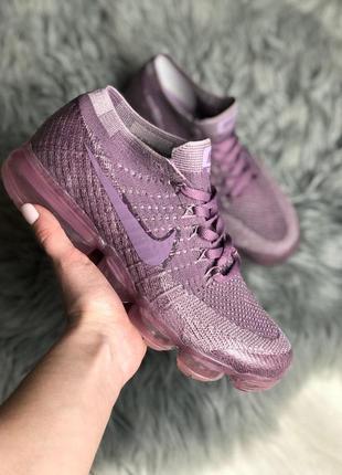 Шикарные женские кроссовки nike air vapormax violet dusk 😍 (весна/ лето/ осень)