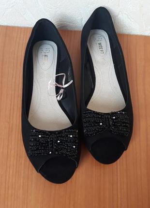 Симпатичные туфельки-балетки