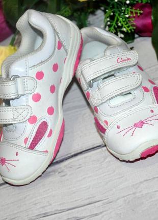 Модные кроссовочки clarks кролики