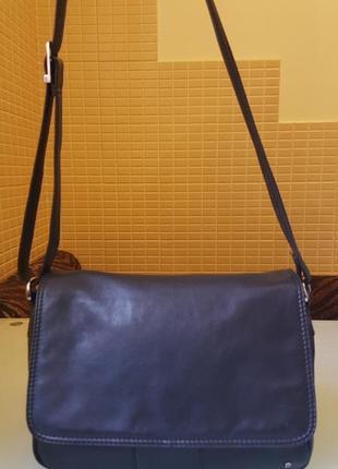 Практичная женская сумка tula 100%кожа