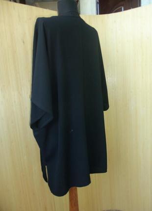 Роскошная чёрная блуза с кисточками летучая мышь3