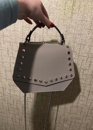 Кожанная сумка 🔥