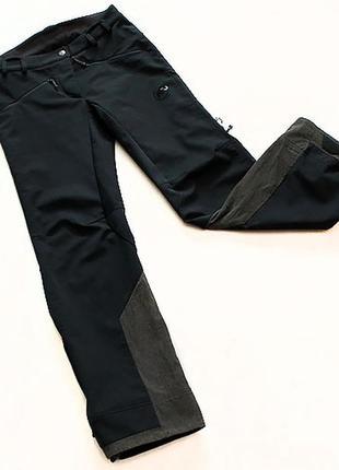 Трекинговые штаны mammut tartamar. размер s