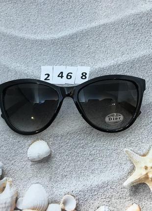 Солнцезащитные черные очки к. 2468