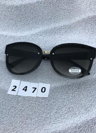 Солнцезащитные очки  черные к. 2470