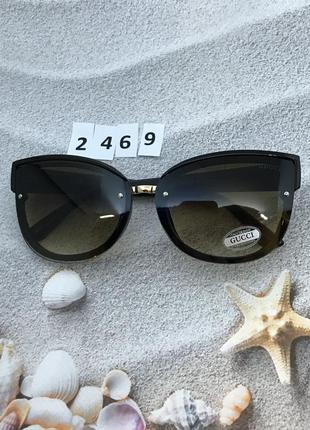 Коричневые солнцезащитные очки к. 2469