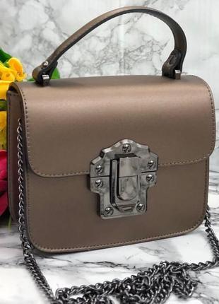 Кожаная сумочка италия
