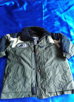 Зимняя куртка togo  на 3 -4 года