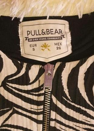 Кофта - бомбер pull&bear размер s2