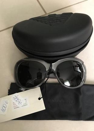 Очки солнцезащитные фирменные дорогой бренд armani