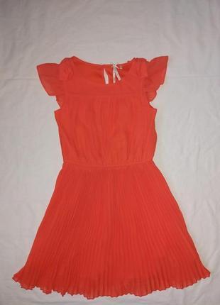 Красивое платье на девочку 8 лет,128 см,от next