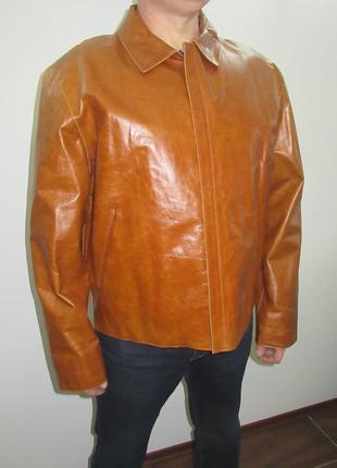 Куртка новая турция натуральная кожа размер хл