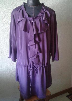 Блузка туника большого размера 20