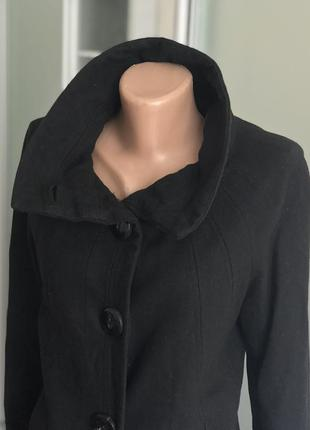 Чёрное пальто zara4 фото