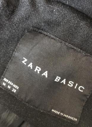 Чёрное пальто zara6 фото
