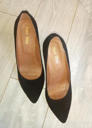 #розвантажуюсь замшевые туфли на каблуке