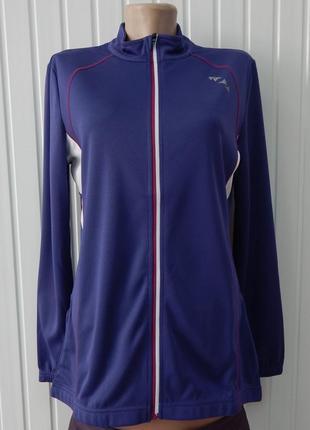 Велокуртка женская фиолетовая crivit sports