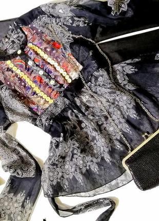Эксклюзивная блуза в этно стиле morgan