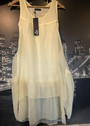 Красивое легкое летнее платье туника