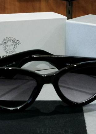 Versace очки женские солнцезащитные в упаковке черные