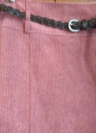 Пыльно розовыя юбка2 фото